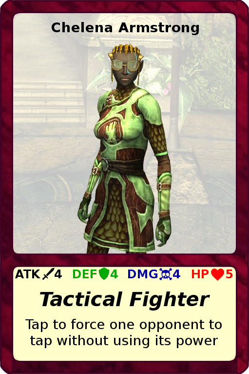 DDOtG: Tactical Fighter